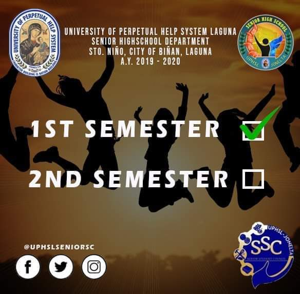 SECOND SEMESTER IS WAVING AT YOU!   Bye First Sem, Hello Second Sem! So hang in there Perpetualites, because we are up for another battle!   #RoadToPICC<br>http://pic.twitter.com/VIlcvMXOpH