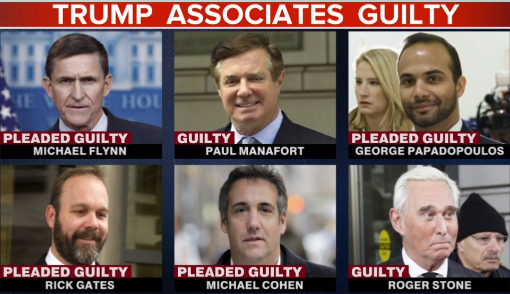 """""""When the character of a man is not clear to you, look at his friends.""""  ~ Japanese Proverb   𝐑𝐨𝐠𝐞𝐫 𝐒𝐭𝐨𝐧𝐞    Michael Flynn  George Papadopoulos  Michael Cohen  Paul Manafort   #FridayFeeling #DonaldTrump #GOPTraitors #witnesstampering #GOP<br>http://pic.twitter.com/kuptLWk8qe"""