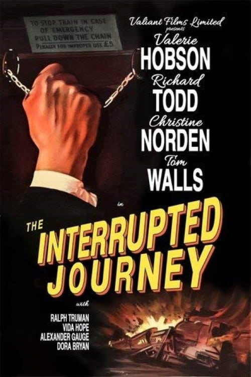 The Interrupted Journey (1949) UK poster