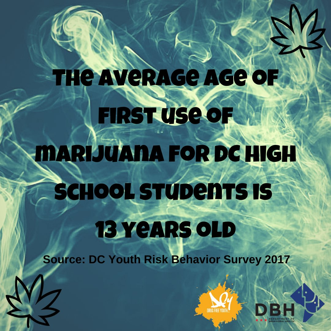 FUN FACT FRIDAY: Studies show that long-term use of marijuana by teens can negatively impact brain development. This may look like problem comprehending and difficulty remember new things. #drugfreeyouth