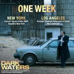 Image for the Tweet beginning: In ONE WEEK, #DarkWaters will