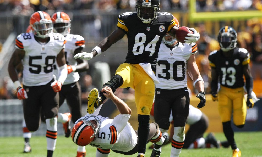 Antonio Brown Shares Message For Steelers QB Mason Rudolph