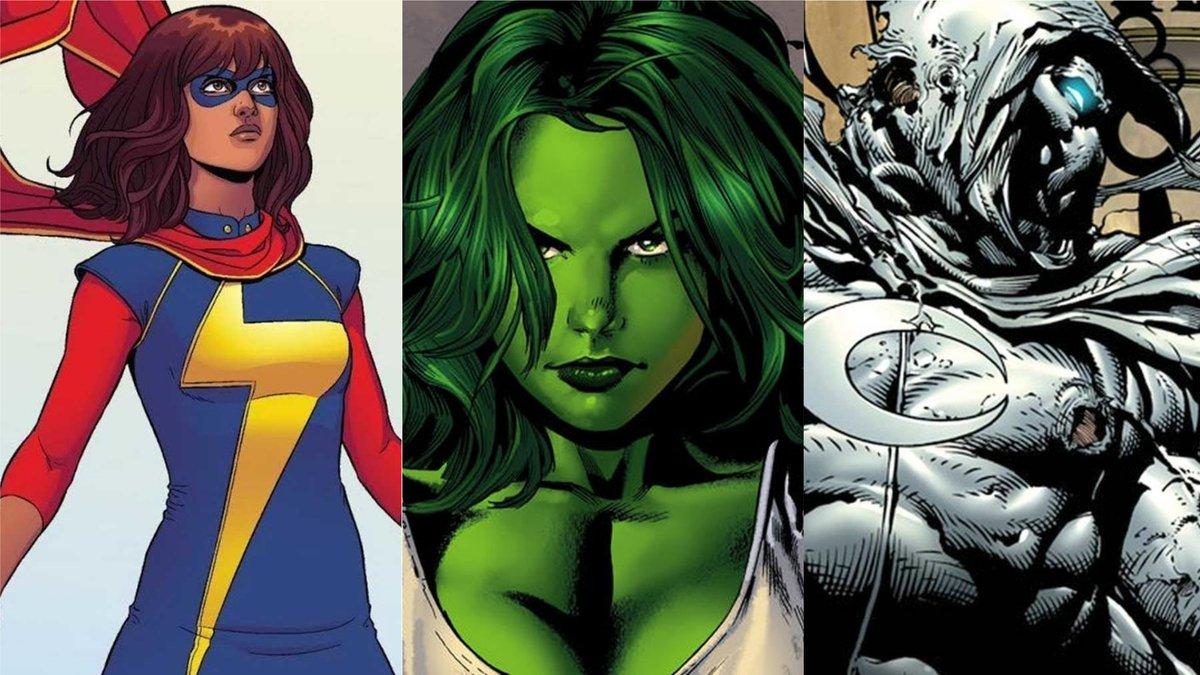 Ms. Marvel, She-Hulk e Cavaleiro da Lua aparecerão nos filmes da Marvel Studios, confirma Kevin Feige   bit.ly/34ZCvgm