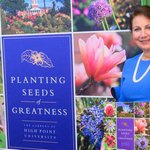 "Last night, our @highpointu family gathered to celebrate the release of ""Planting Seeds of Greatness,"" a book that showcases the growth of the Mariana H. Qubein Arboretum and Botanical Gardens on campus.  https://t.co/ASFfVkxEv4"