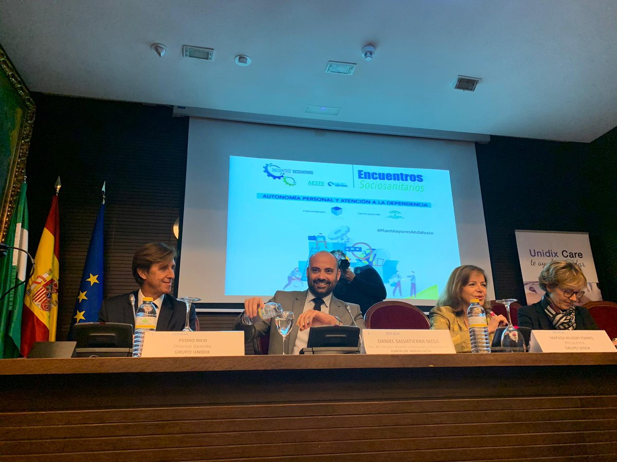 test Twitter Media - Gracias a @Grupo_SENDA por la organización de este encuentro en el que se han visualizado algunos de los problemas de las #PersonasMayores de #Andalucia @AESTE_oficial https://t.co/vEb2nqkaPu