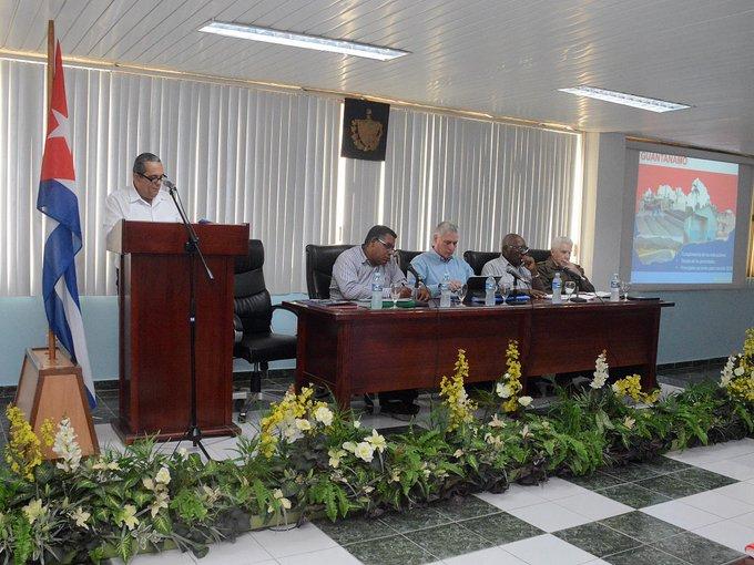 Diaz-Canel concludes government visit to Guantanamo