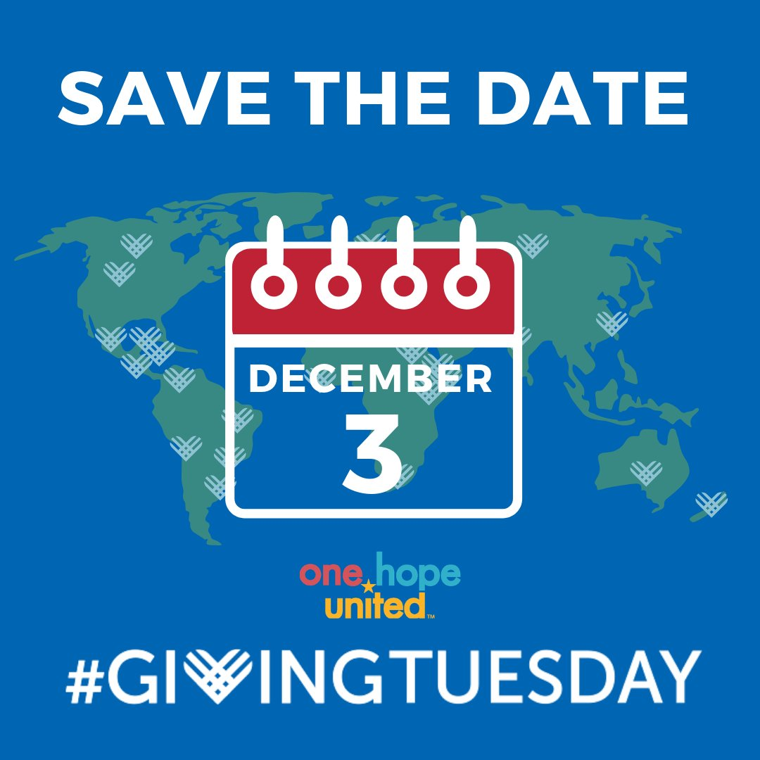 test Twitter Media - Today is #NationalPhilanthropyDay. We are grateful for all who support the mission of #OneHopeUnited. Join us on December 3rd- a day your generosity will positively impact the lives of the children, and families we serve.   #GivingTuesday #ChicagoGives #ILGive #OrlandoGives https://t.co/FznMUQIThg