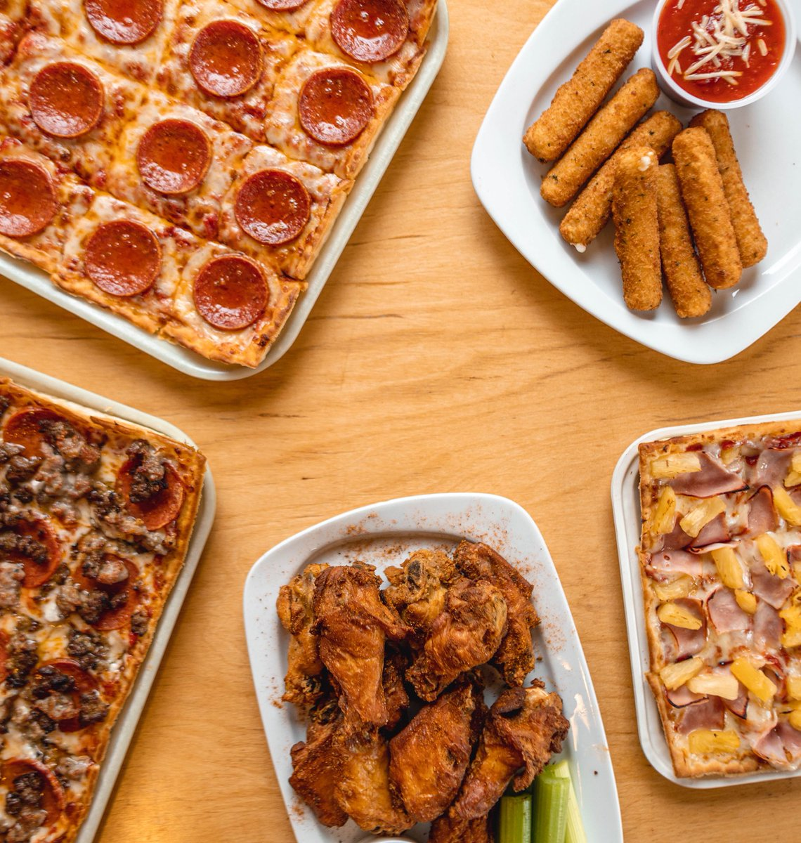 #FridayFeeling GIVEAWAY   We are GIVING AWAY (2)  $50 #LEDOPIZZA Gift Card!  RETWEET & FOLLOW  to be entered to win! (2 winners picked randomly at 10pm on 11/15/19) <br>http://pic.twitter.com/9qer6CqVUw