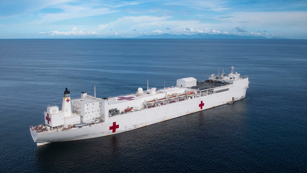 Today, the hospital ship #USNSComfort returns home after a 5-month medical assistance mission to #LatinAmerica & the #Caribbean. The crew, w/ regional partners, provided care to 68K people in 12 nations, including many who fled the #Venezuela crisis. #KnowYourMil #EnduringPromise<br>http://pic.twitter.com/39meqM5naR