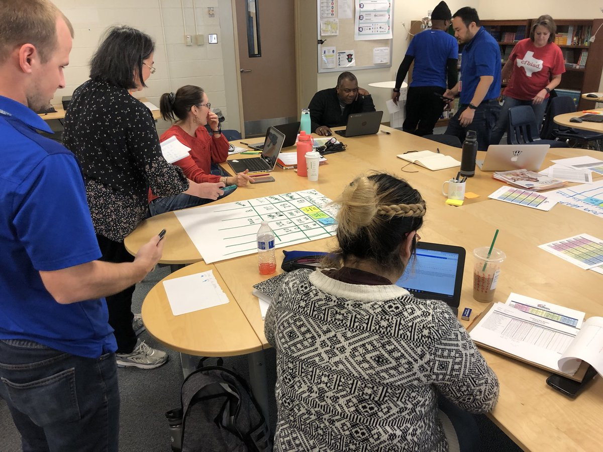 Digging deep into the data today @fieldms_field #rowtheboat #cfbisd #betheexception