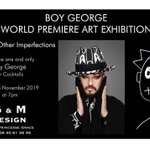 Image for the Tweet beginning: #Art #Monaco #WorldPremiere #BoyGeorge