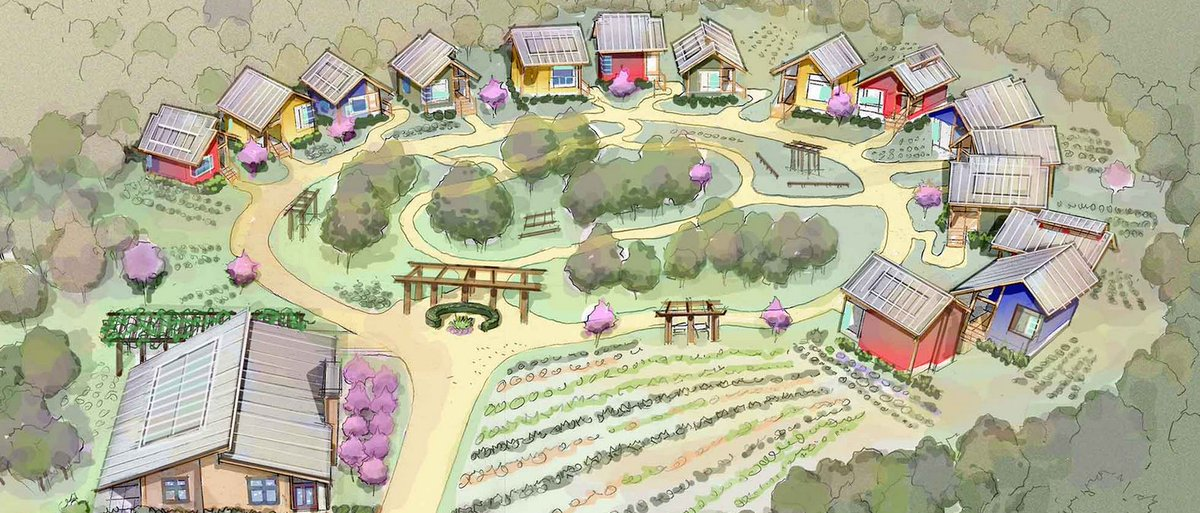 We're breaking ground today for Tiny Homes Village, a new concept in residential treatment for persons with severe mental illness. The weather cannot keep our spirits down! https://t.co/3lIKtyFrdh