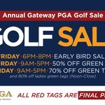 Image for the Tweet beginning: The 29th Annual Gateway PGA