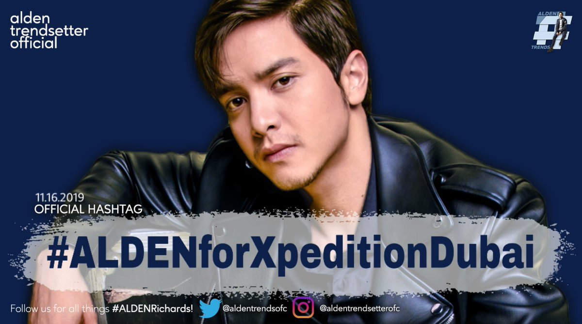 An important milestone is happening today! Another FIRST!  Xpedition (Dubai-based magazine for luxury travel & fashion) will have a photoshoot with their very FIRST male cover — Asia's Multimedia Star, #ALDENRichards!  @aldenrichards02 @xpeditionmag #ALDENforXpeditionDubai<br>http://pic.twitter.com/3fpjcGuFfu