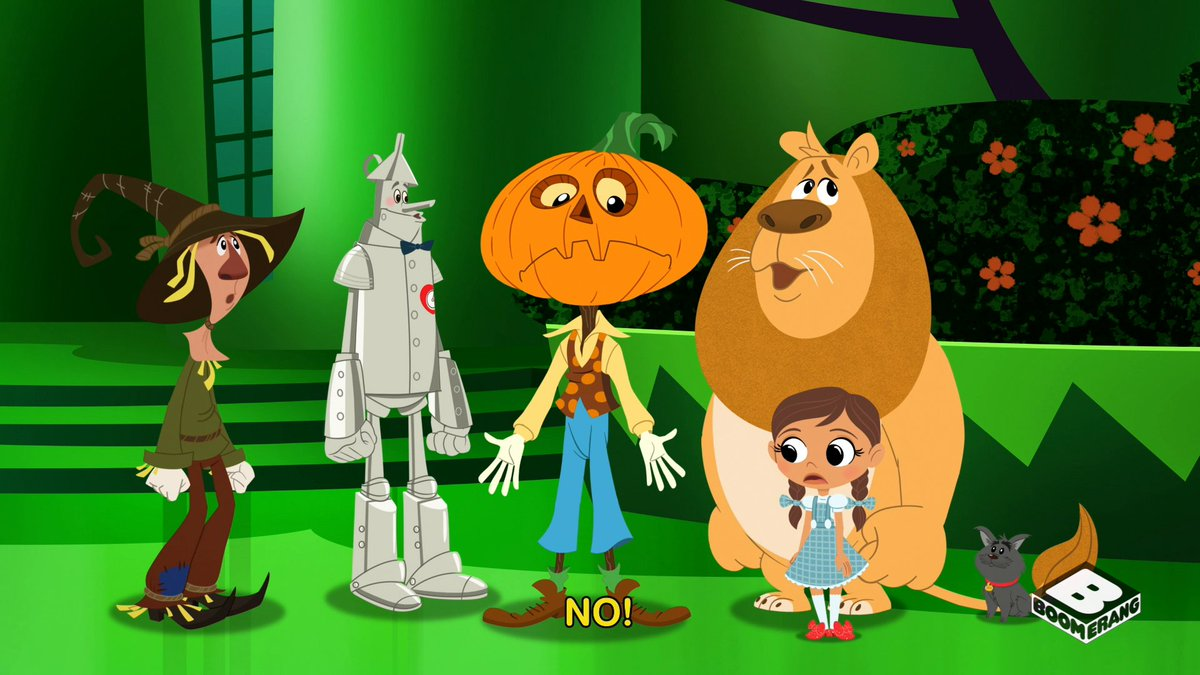 That's a unique set of problems, Jack. 🎃  Watch all new Dorothy and the Wizard of Oz on Boomerang!  👉