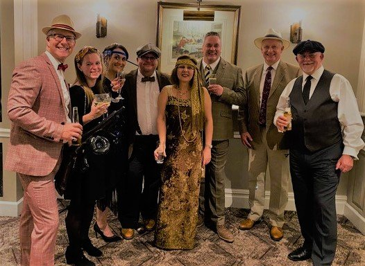 Yesterday the Tysers team went #backtothefuture at the @UNA_Alliance annual conference. We donned 1920's attire for an evening filled with fun and flapper girls following a very productive day of networking with broker colleagues and insurer partners.