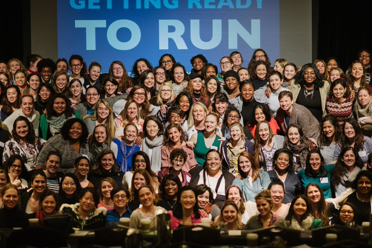 Women make great leaders. Women win elections. Women are electable. That's why we want to recruit even MORE women to run for office across the country in 2020. Join us: emilyslist.org/run-to-win