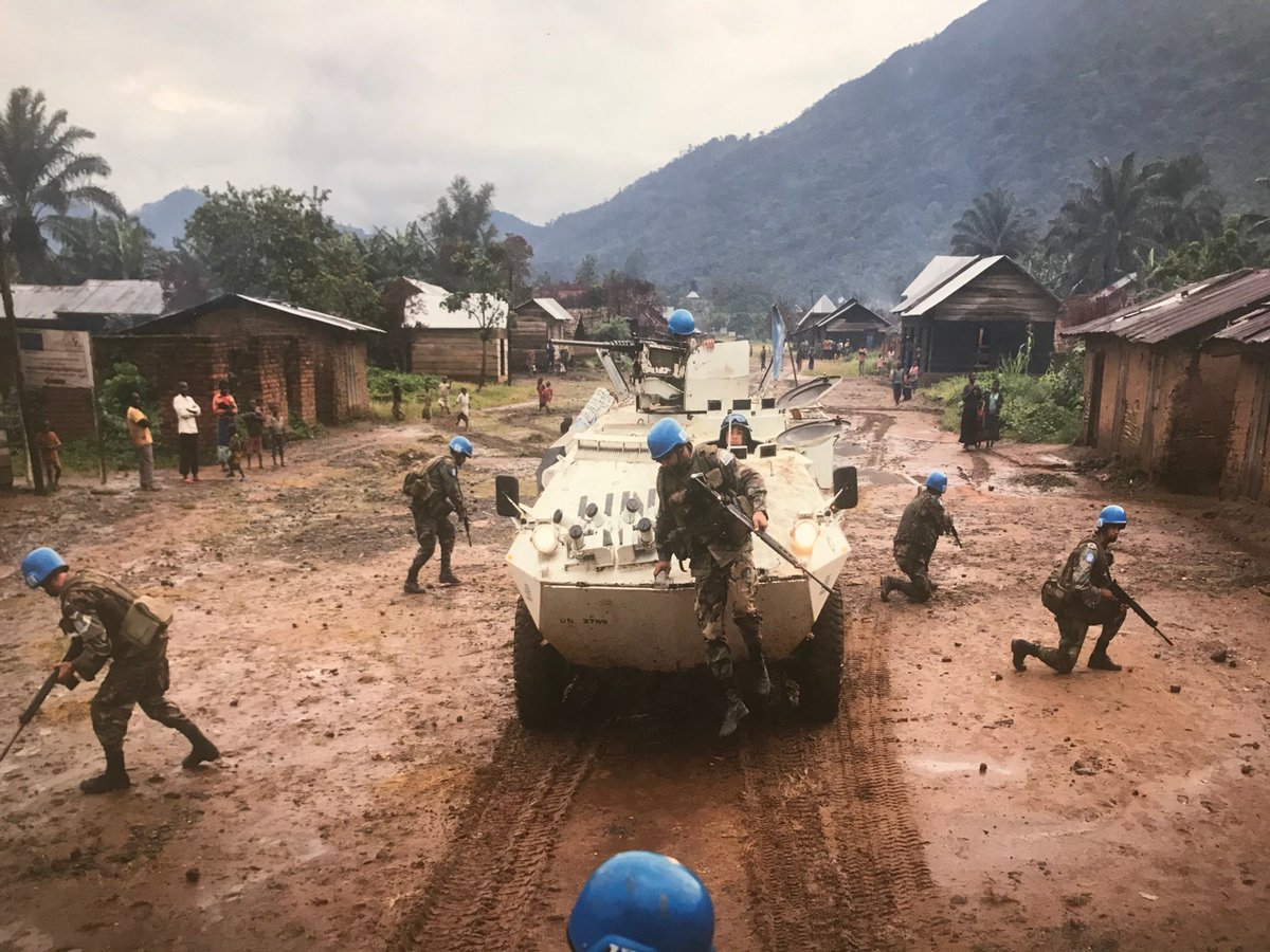 Statement on PKO: Deployed where civilian populations are most at risk, @UN #Peacekeepers daily place themselves in harm's way; called to protect those most vulnerable in conflict, their presence must be a sign of hope and an assurance to those burdened by war and extreme poverty