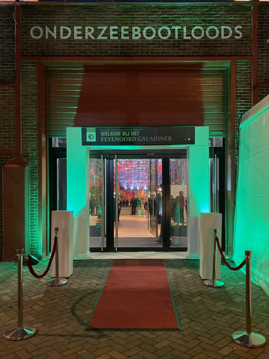 test Twitter Media - TONIGHT: Feyenoord Galadiner 2019! ✨  Dit jaar niet in De Kuip, maar in de RDM Onderzeebootloods.  #KrachtVanFeyenoord https://t.co/4s3inbjob0
