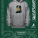 Image for the Tweet beginning: Get 25% off all sweatshirts