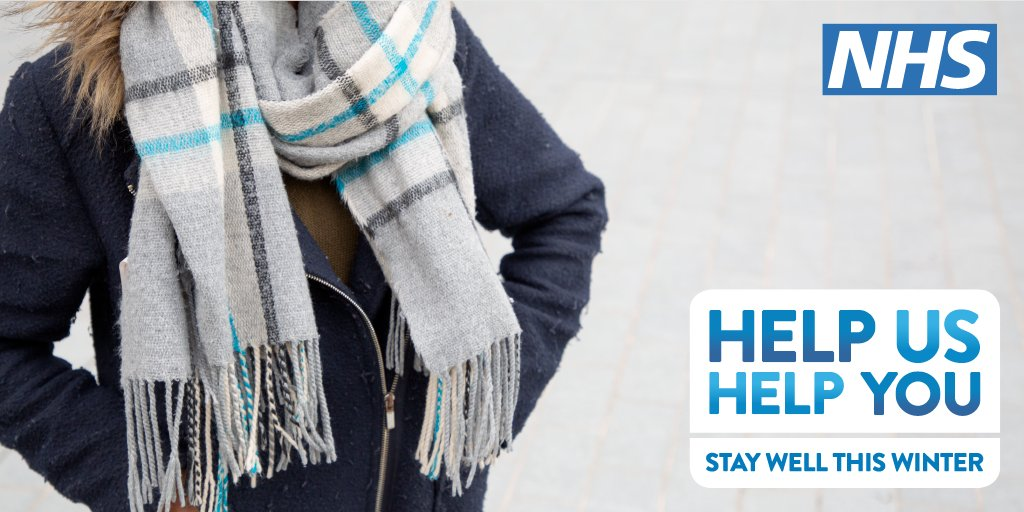 Did you know that several layers of clothes are better for staying warm than one chunky layer? Stay well this winter with these tips: ow.ly/osWv30pTqeJ #ThursdayThoughts