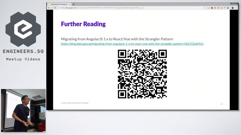 Migrating from AngularJS to React/Vue with the Strangler Pattern  ☞  http:// bit.ly/2Mh3b5R      #reactjs #javascript<br>http://pic.twitter.com/xV7JEnGzEb