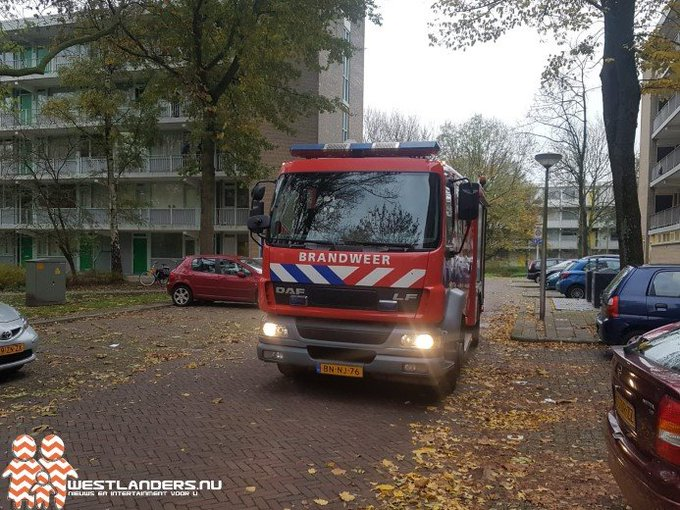 Brand bij Bachsingel in Delft https://t.co/LVNXSow706 https://t.co/H0QcCAnHaS