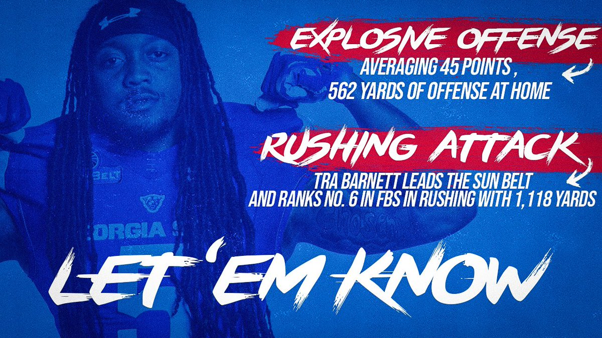 Attention All GSU Fans And Alumni! We Have A Big Game Tomorrow Night And The Players Need Our Support. Don't Meet Me There, Beat Me There!  @GeorgiaStateFB vs #25 App State   Sat- 7:30 p.m. @GSUStadium  #OurCity #LetEmKnow <br>http://pic.twitter.com/WJebNzDAAJ