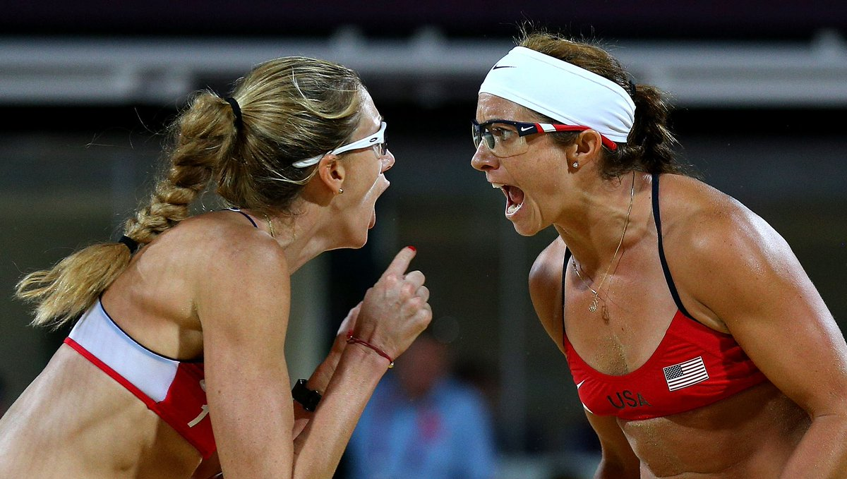 ".@MistyMayTreanor believes that an atmosphere in which both she and @kerrileewalsh Jennings felt free to ""make mistakes"" was the key to success. Here, the US beach volleyball star  lifts the lid on life as a triple gold medal-winning duo. 👉https://bit.ly/2QmlJUE  @TeamUSA"