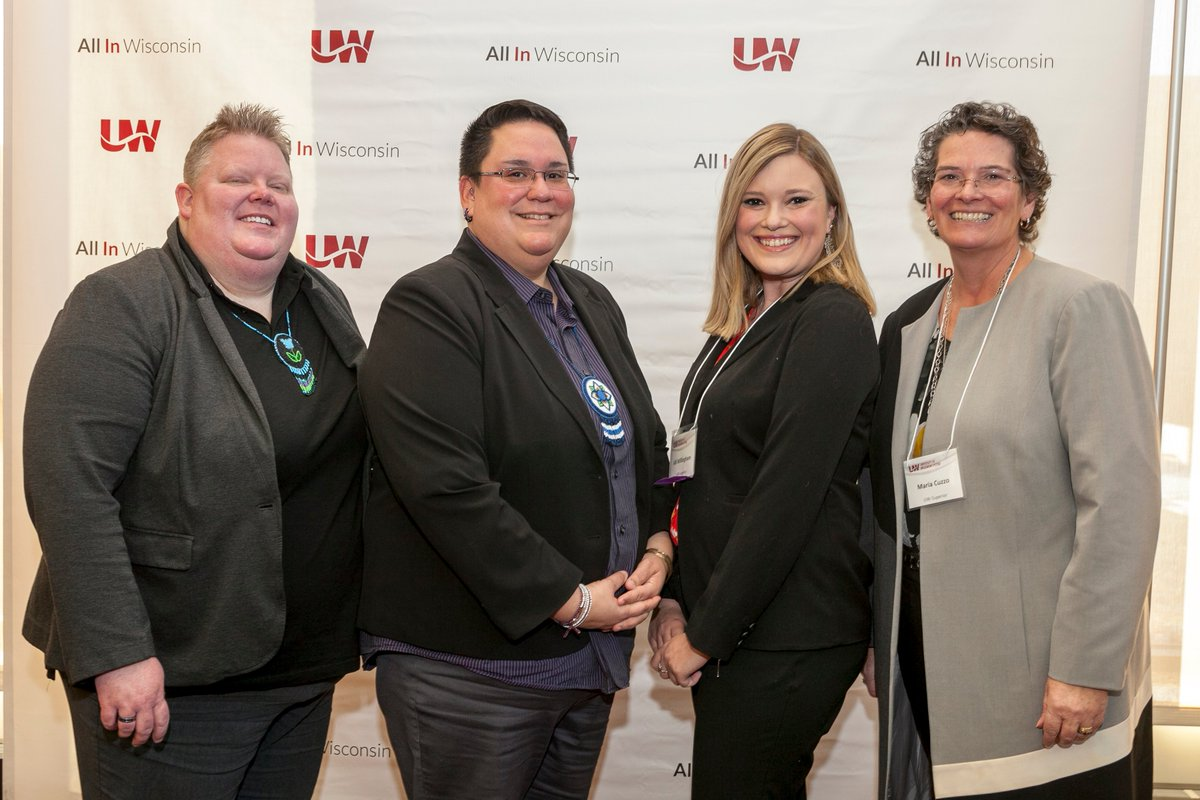 In September, UW-Superior named Kat Werchouski the recipient of the Women of Color in Education Award and Allison Willingham the recipient of the Dr. P.B. Poorman Award. Both were recognized Nov. 7 during a special ceremony in Madison. https://t.co/DZX2AUkOOB