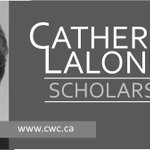 Image for the Tweet beginning: Catherine Lalonde Memorial Scholarships awarded
