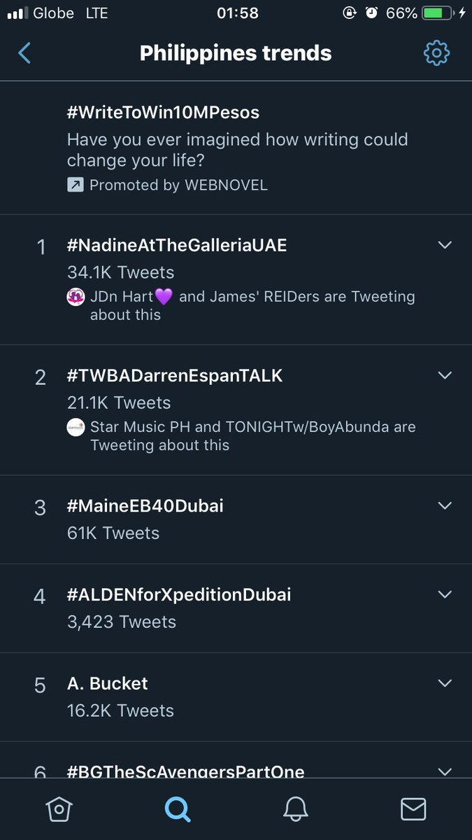 Nadine top trend  in Philippines ,  United Arab and 2nd spot in Abu Dhabi    #NadineAtTheGalleriaUAE<br>http://pic.twitter.com/ytr9NeTMbi