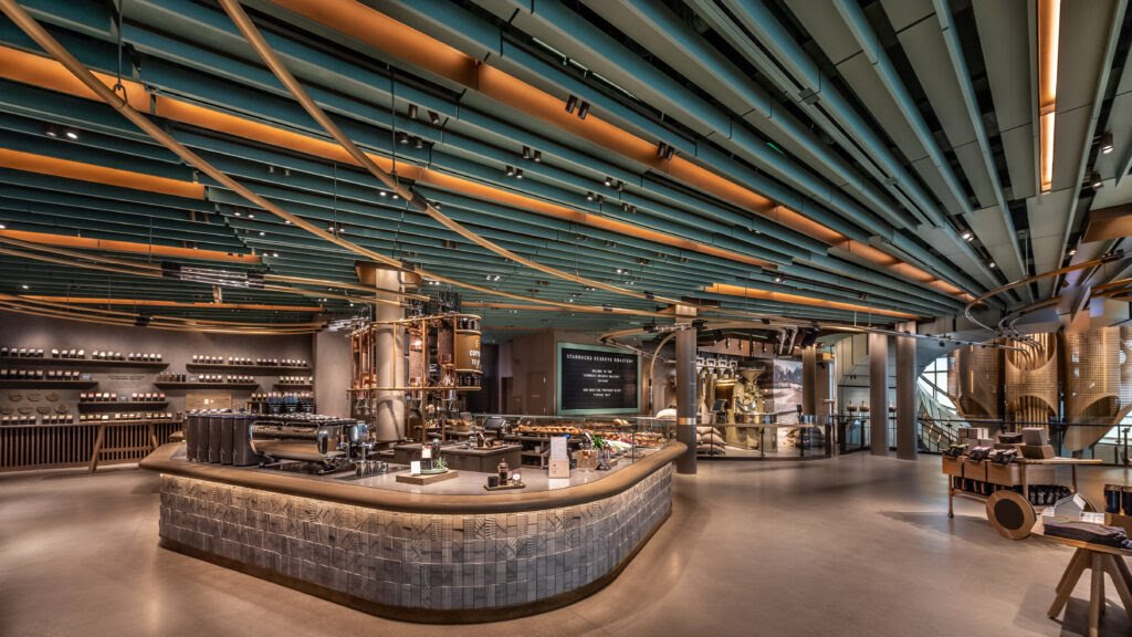 "Today, the world's largest @Starbucks ""Reserve Roastery"" opens in Chicago. The 35,000 square-foot space can serve +8,000 visitors/day on avg.   In case you need a place to get out of the cold this winter, this might be the place. #FridayFunday"
