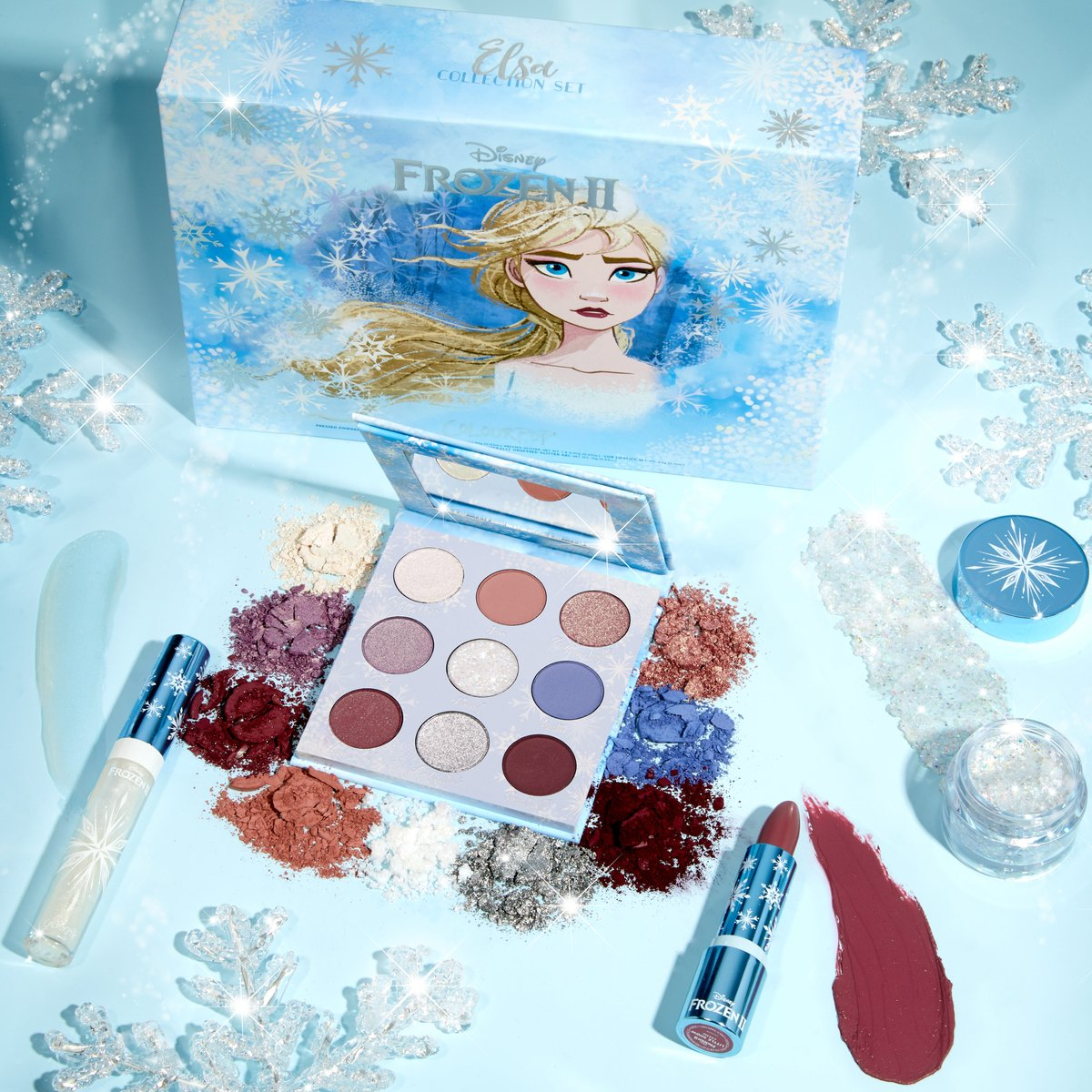 🍂Some collections are worth melting for... now live! ❄️ #frozen2andcolourpop  ☃️: bit.ly/2oOs2F8