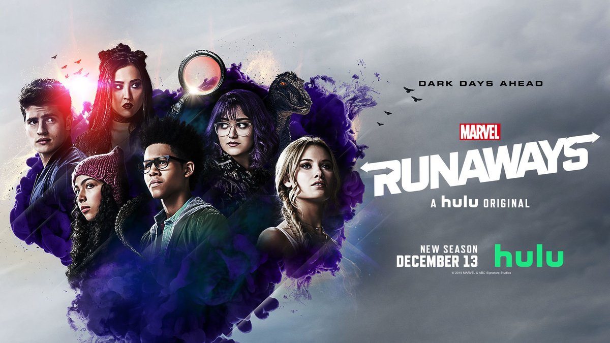 The stakes have never been higher. #MarvelsRunaways returns December 13 on @Hulu.