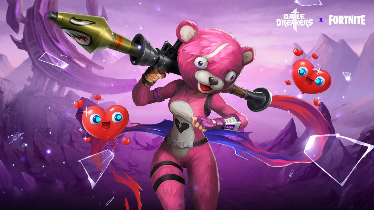Cuddle Team Leader is dropping into  @BattleBreakers!   Available now in the  #BattleBreakers Hero Store.   Learn more about Battle Breakers here:  http://battlebreakers.com