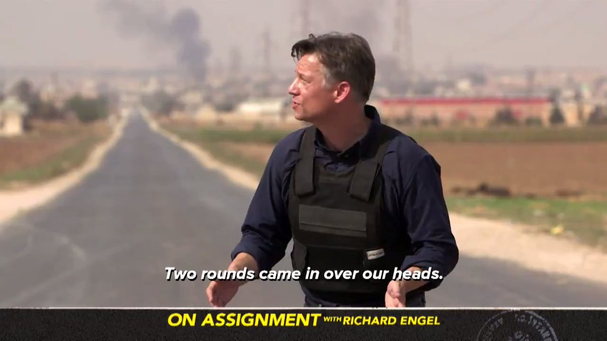 .@RichardEngels latest reporting from Syria on the withdrawal of support for Americas Kurdish allies airs again this Sunday. You can catch On Assignment: American Betrayal at 10pm ET on @MSNBC. #OnAssignmentMSNBC