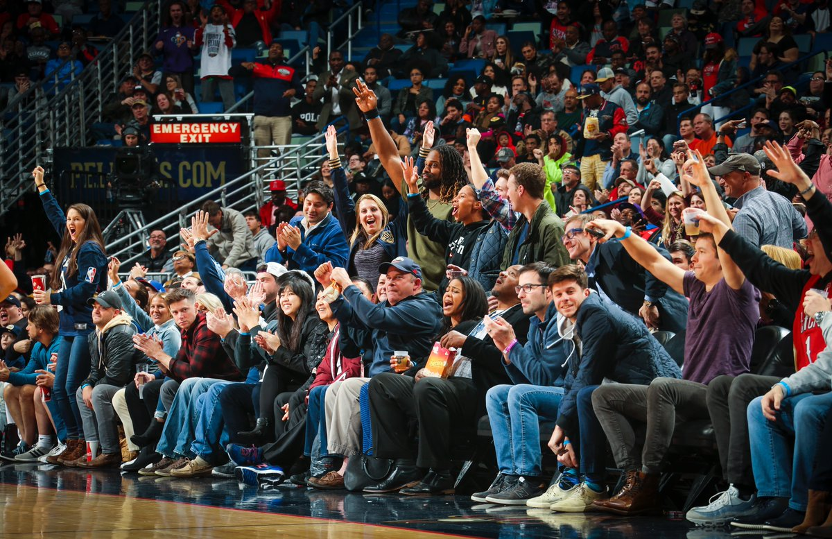 New Orleans Pelicans On Twitter Thanks For The Love Last