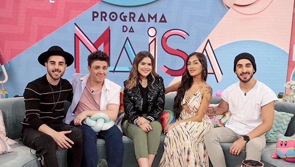 Maisa recebe os irmãos Melim em seu programa neste sábado (16)- #Televisivo  #MAISA #Melim #ProgramadaMaisa #sbt http://www.televisivo.com.br/?p=42037