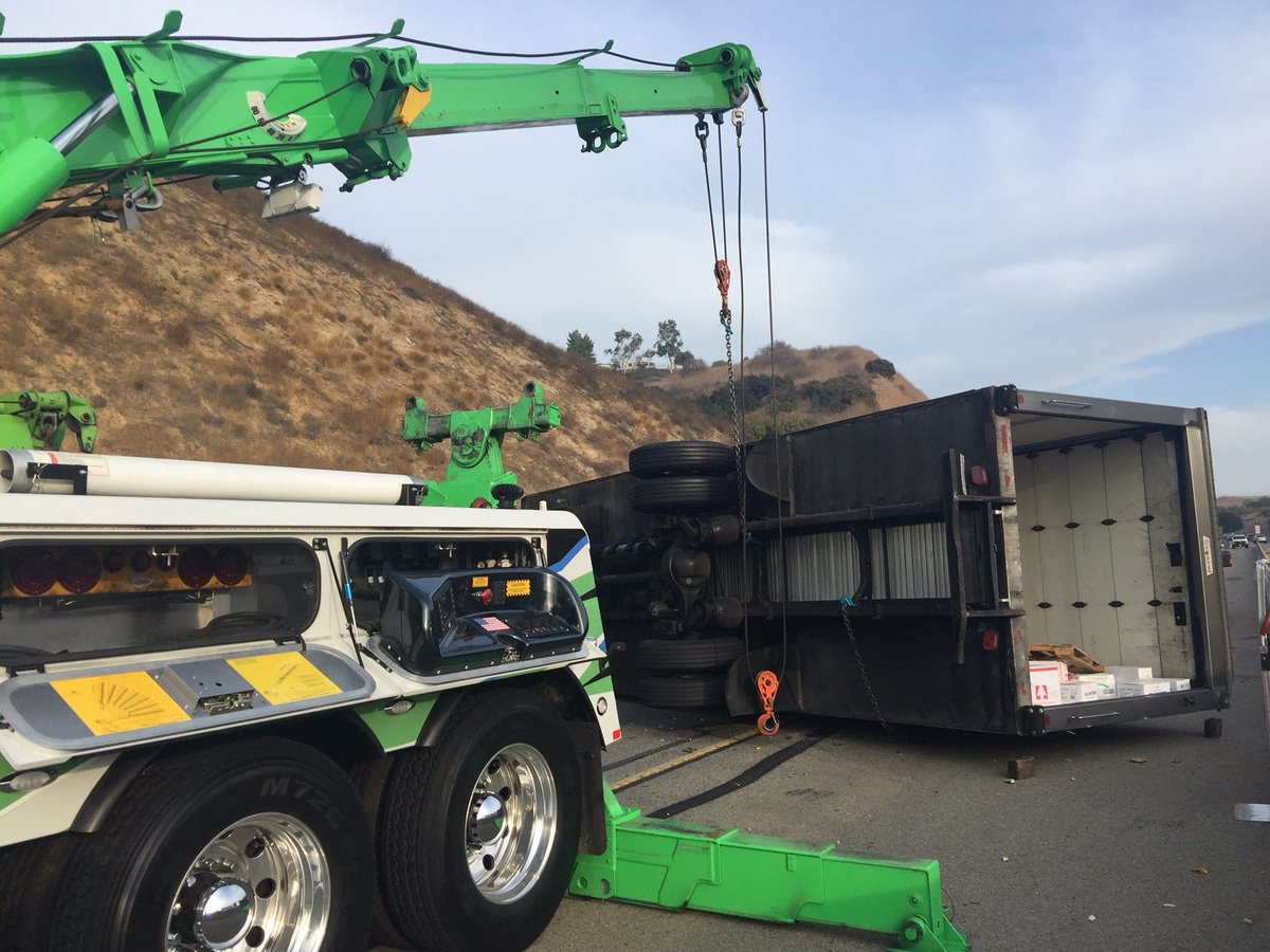 Image posted in Tweet made by Caltrans District 7 on November 15, 2019, 11:41 pm UTC