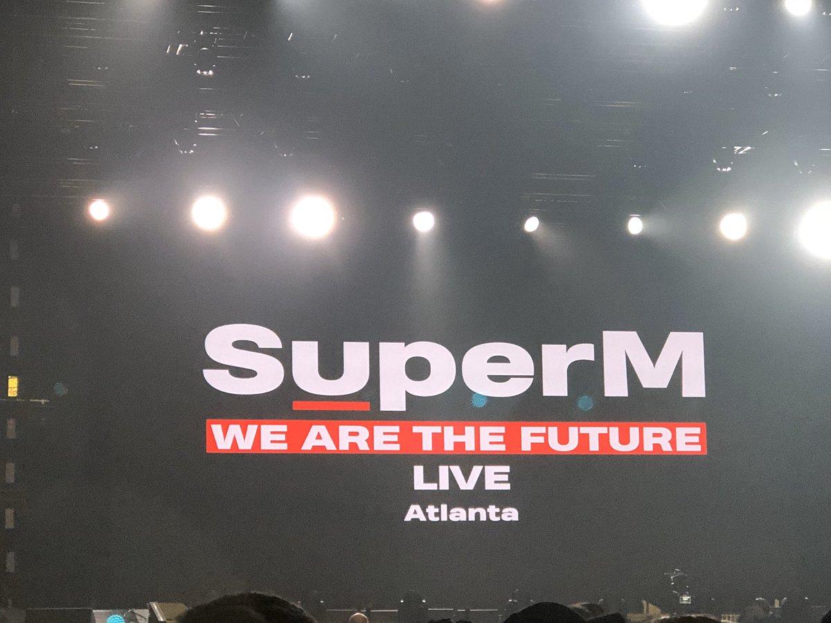 Almost time!!!!! #WeAreTheFuture #SuperM #SuperM_Jopping #슈퍼엠 #TAEMIN #BAEKHYUN #KAI #TAEYONG #TEN #MARK #LUCAS #SuperMtheFuture #SuperMinATL #SuperMinAtlanta #SuperMinDuluth #SuperM_Number1 #SuperMinGA #supermtour #jopping #joppingsuperm