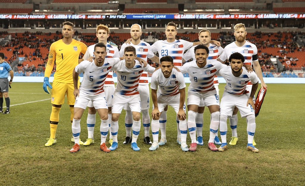Good luck to the @USMNT tonight against Canada! Really sad that I've had to sit out these important games because of injury but I'll be supporting from London. Let's get the W 💪🏼🇺🇸