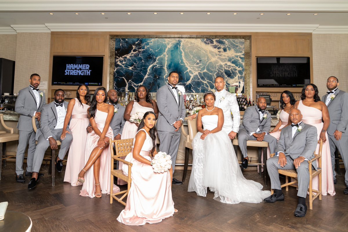 """Jemele Hill on Twitter: """"Dopest bridal party ever #FromMSUToIDo """""""