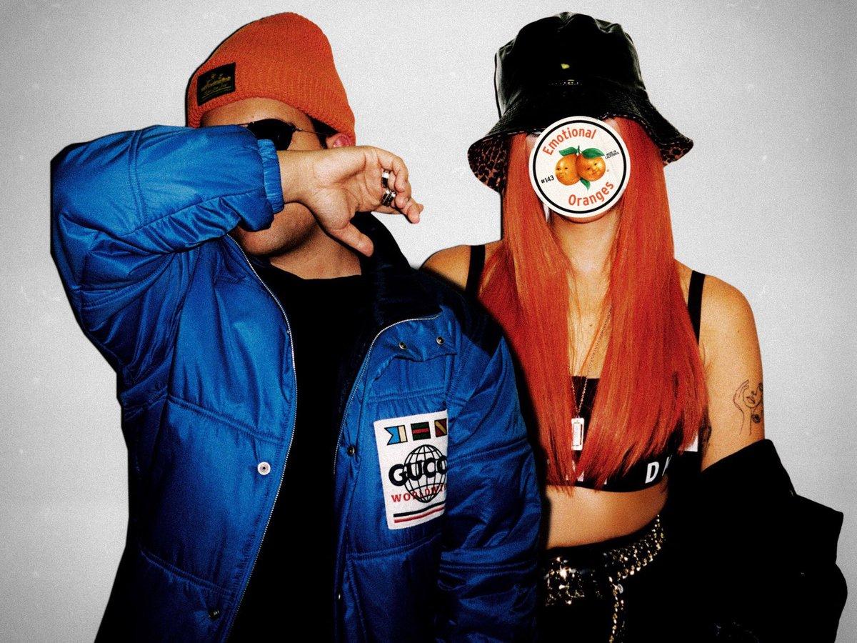 orange hair = real commitment 🧡