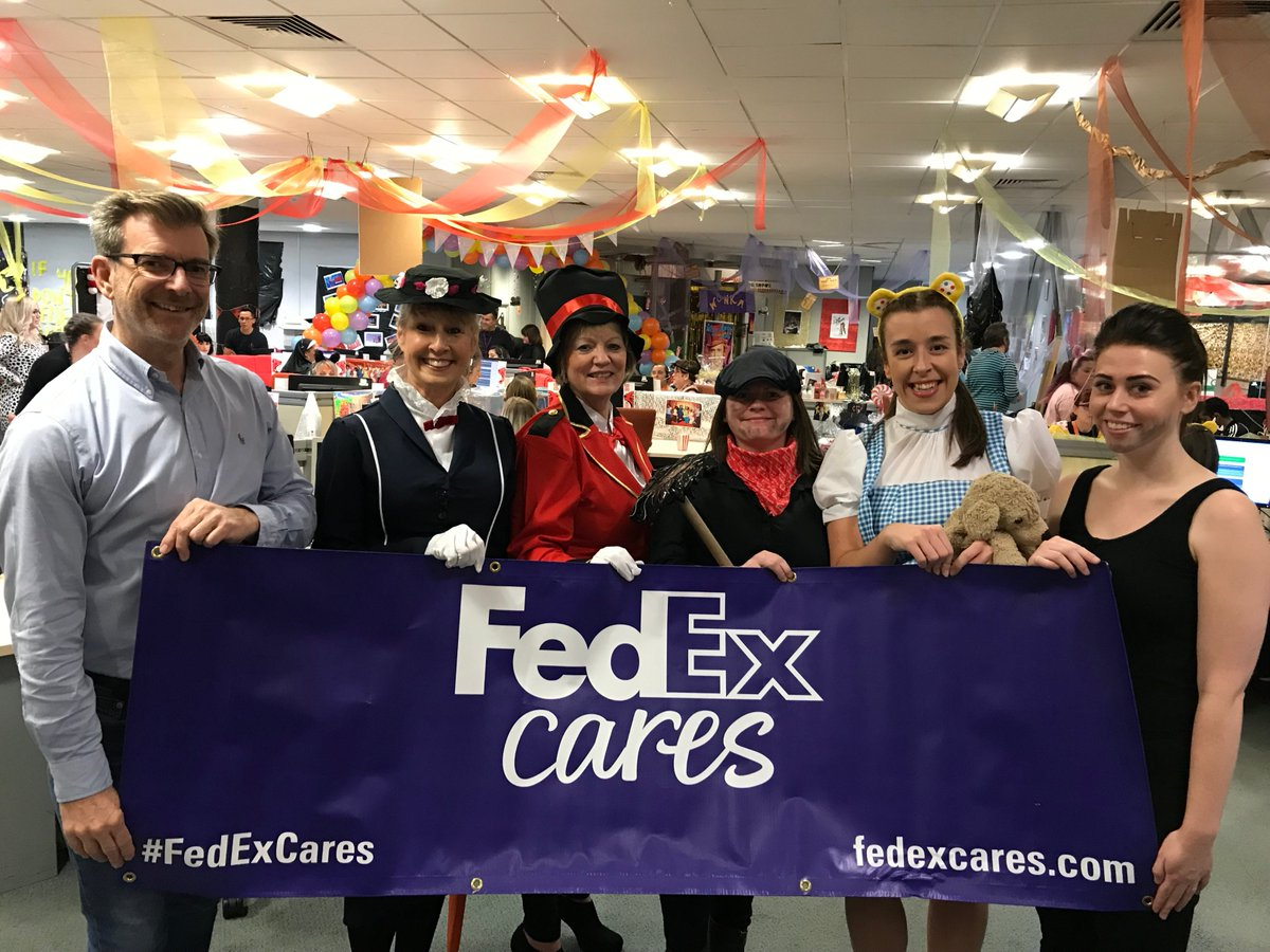 Have you donated to BBC  #ChildrenInNeed? You might just hear the friendly voice of one of our team who are taking donation calls in our Customer Care Centres! A huge thanks to all of our team members who have volunteered their time to support this great cause  #FedExCares  #CiN2019
