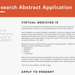 Image for the Tweet beginning: Got great #VR research? Apply