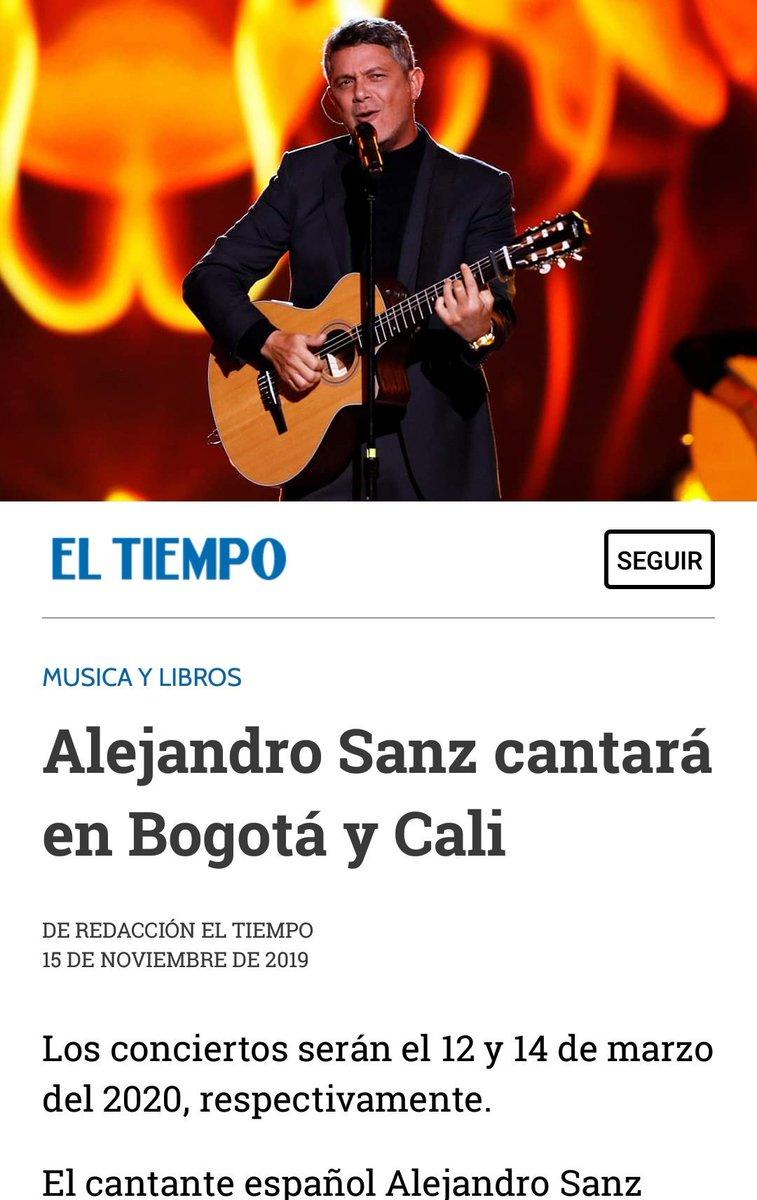 .@ELTIEMPO  @AlejandroSanz vino al país con su gira Sirope en el 2016 y este año estuvo en el concierto #VenezuelaAIDLive en Cúcuta.