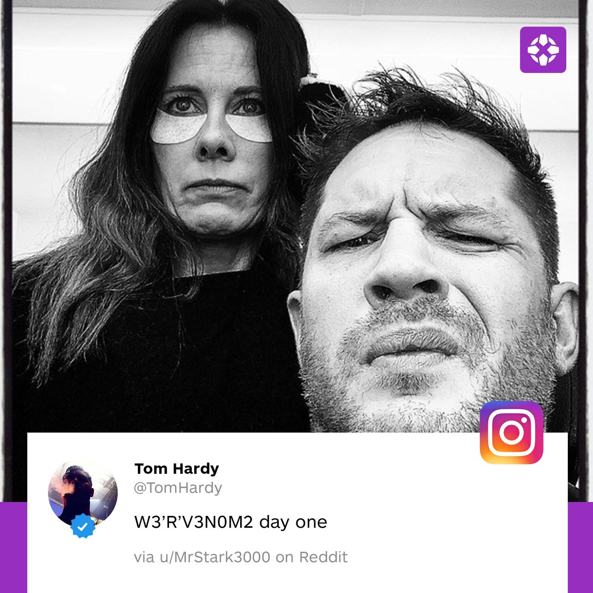 Ign On Twitter Tom Hardy Revealed Venom 2 Started Production Through An Instagram Post That Was Quickly Taken Down