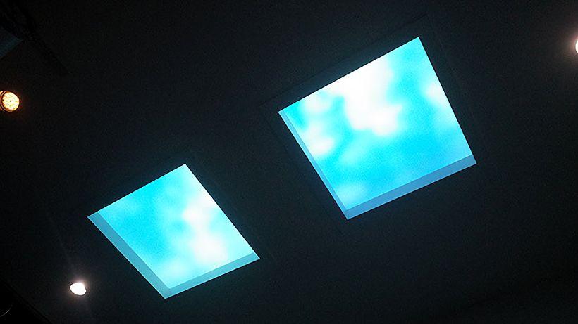 パナソニックの「天窓照明」がもたらす光と影と風--最新空間演出体験の場も用意 - CNET Japan