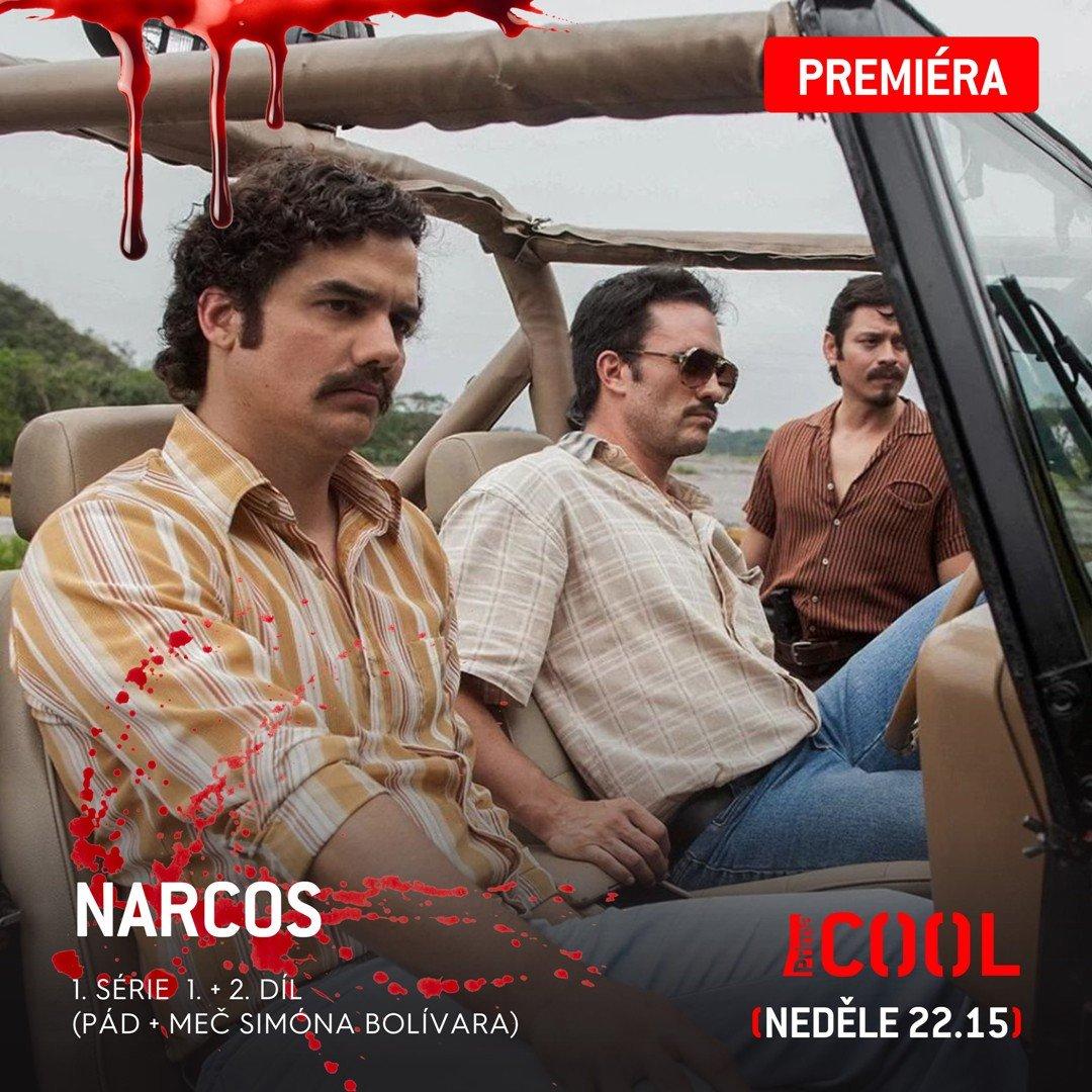 Čekání je u konce. Pablo Escobar konečně přijíždí na Prima COOL! ;)   #PrimaCOOL #Narcos #Premiera #1Serie #DvaDilyPoSobe #PabloEscobar #WagnerMoura https://t.co/6Moq0LeRWm